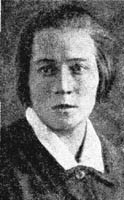 Anna Andreyeva-Petoshina (1898–1944): Russian sculptress. Studied at the VKhUTEMAS/VKhUTEIN in Petrograd/Leningrad  and worked for Lenproletkult and Oblprofsoviet. Died in the Siege of Leningrad.