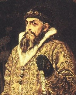 Tsar Ivan IV the Terrible painted by Victor Vasnetsov