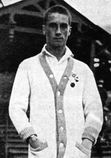 Russian tennis player Count Mikhail Sumarokov-Elston, cousin of Prince Felix Yussupov, absolute champion of Russia, partnered Suzanne Lenglen, defeated Henri Cochet, husband of Natalia Bellik