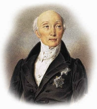Count Mikhail Speransky, father of Russian liberalism and creator of the first project for a constitution under Alexander I