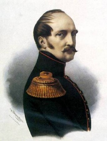 Nicholas I, emperor of Russia, son of Paul I and Maria Fyodorovna, brother of Alexander I, husband of Princess Fredericke Luise Charlotte Wilhelmine of Prussia, father of Alexander II, suppressed the Decembrist Revolt in 1825 and died during the Crimean War