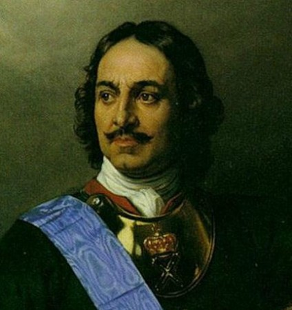 Peter the Great (1672–1725): Son of Tsar Alexis Mikhailovich and Natalia Naryshkina, husband of Eudoxia Lopukhina and Catherine Alexeyevna, father of Tsarevich Alexis Petrovich, Anna Petrovna and Empress Elizabeth Petrovna, grandfather of Emperor Peter III. Tsar of Russia (from 1682), emperor of Russia (from 1721). Turned Russia towards the West after visiting Europe (1697–98), founded the city of St Petersburg (1703) and defeated Sweden in the Great Northern War (1700–21).