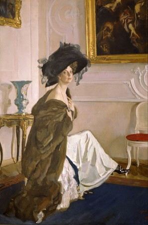 Valentin Serov, Portrait of Princess Olga Orlova, 1911