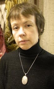 Natalia Smolyanskaya (born 1958), Russian abstract painter, graphic artist, video artist, book artist, installation artist, performance artist, curator, writer, philosopher, teacher. Graduated from Moscow Institute of Polygraphy and Université Paris 8. Member of the Union of Artists, founding member of Polygon. Candidate for the degree of doctor of philosophical sciences, teaches at Russian State University for the Humanities in Moscow.