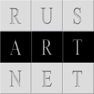 RusArt.net Logo in pastel colours